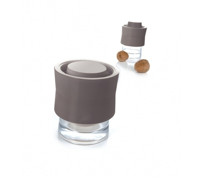 There's no need to take a sledgehammer to crack a nut if you've got this great gadget to hand. Place the nut in the bowl and twist the lid gently to crack it – you'll see when you've succeeded through the clear plastic. Two settings, for large and small nuts. Buy here.