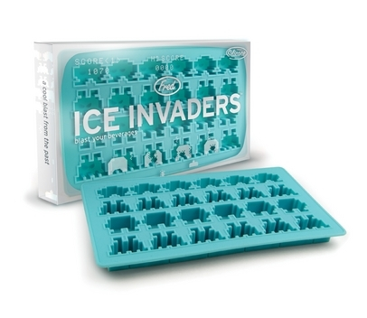 Ice: the final frontier. Re-live a childhood spent zapping aliens by letting some super-cool ice-cubes invade your space. This time you won't need a laser to take them on, just pop them in a cold beverage and let them transport you back to your misspent youth. Buy here.