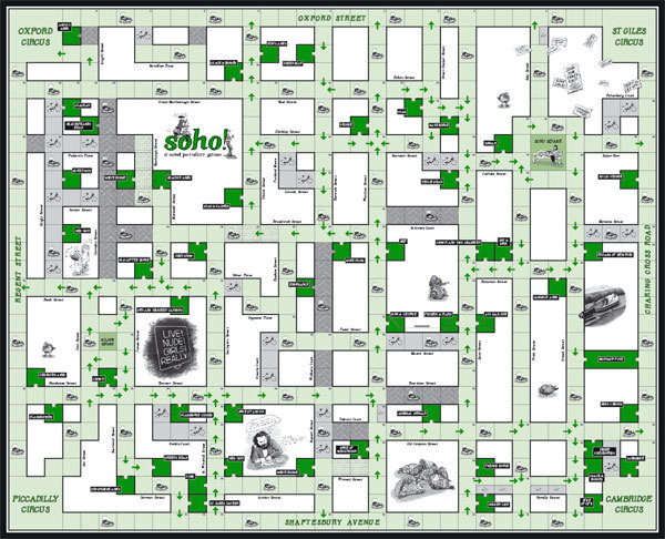Santa's Lap: Soho Board Game From Smoke