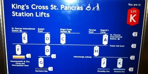 The Complex Lifts Of King's Cross St Pancras