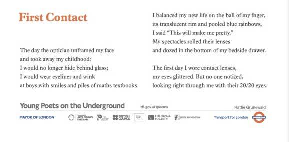 Celebrate 25 Years Of Poems On The Underground | Londonist