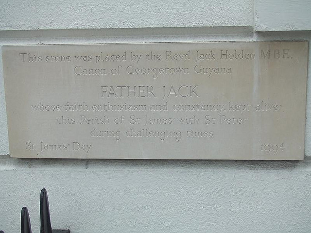 A Plaque Commemorating A Father Ted Character?