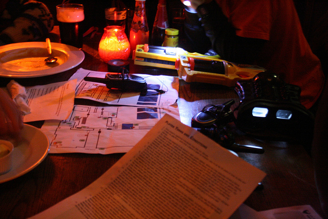 Planning the heist