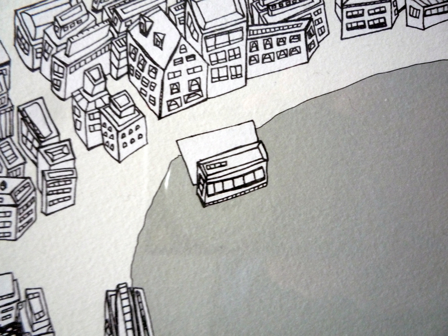 Hand-Drawn Maps Of London: Hackney