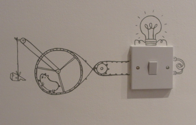 So that's how electricity works!