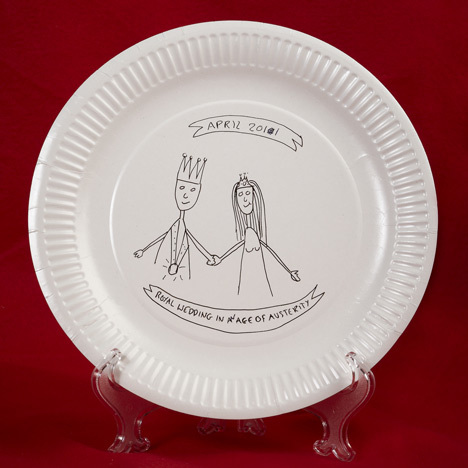 Paper plate design by Emma Morton.