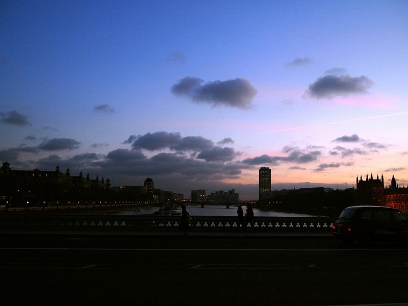 View from Westminster Bridge, by Anatoleya.