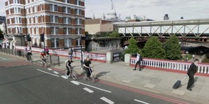 TfL Planning To Remove Blackfriars Bridge Approach Cycle Lane