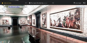 Google Street View Technology Enters Galleries