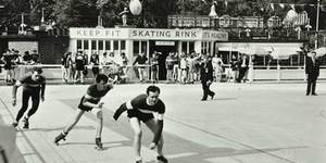 Photo of the Day: Skating at Battersea Park, c.1958