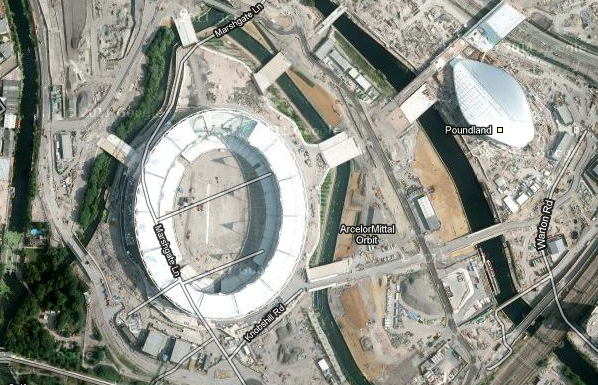 Olympic Park Now Visible On Google Maps | Londonist