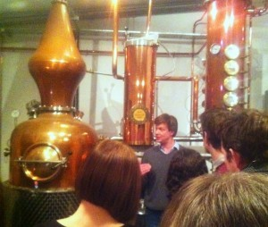 tastour food and drink events, sipsmith gin distillery