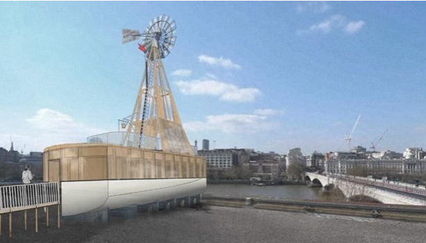 Boat-Shaped Room To Be Built On Queen Elizabeth Hall