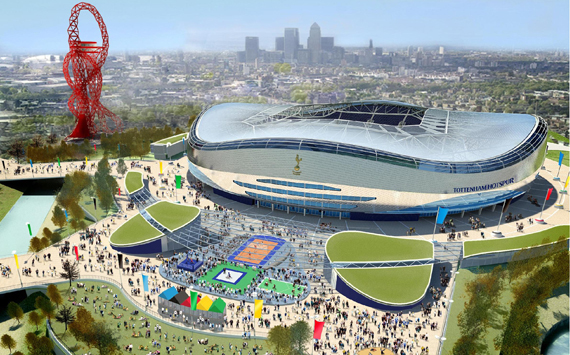 Tottenham Reveal 2012 Stadium Plans