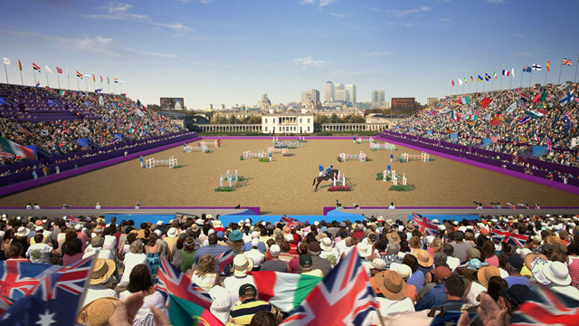 Greenwich Park will host the equestrian events and modern pentathlon.