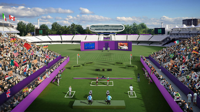 Lords will be temporarily converted into a 5,500 arena for the archery events.