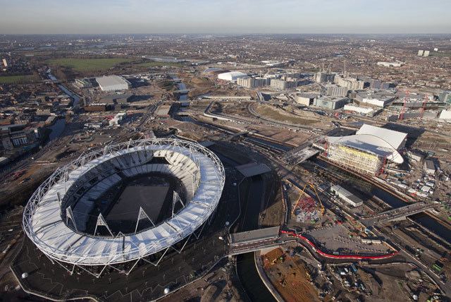 New Aerial Pics Of The Olympic Park