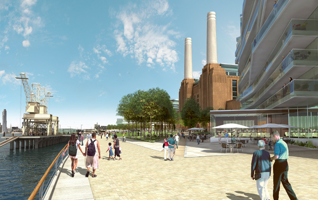 Battersea Power Station Revamp Cleared By Government