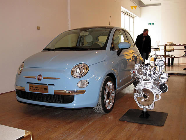 Fiat 500 Twinair Fiat Style and FPT Fiat Powertrain