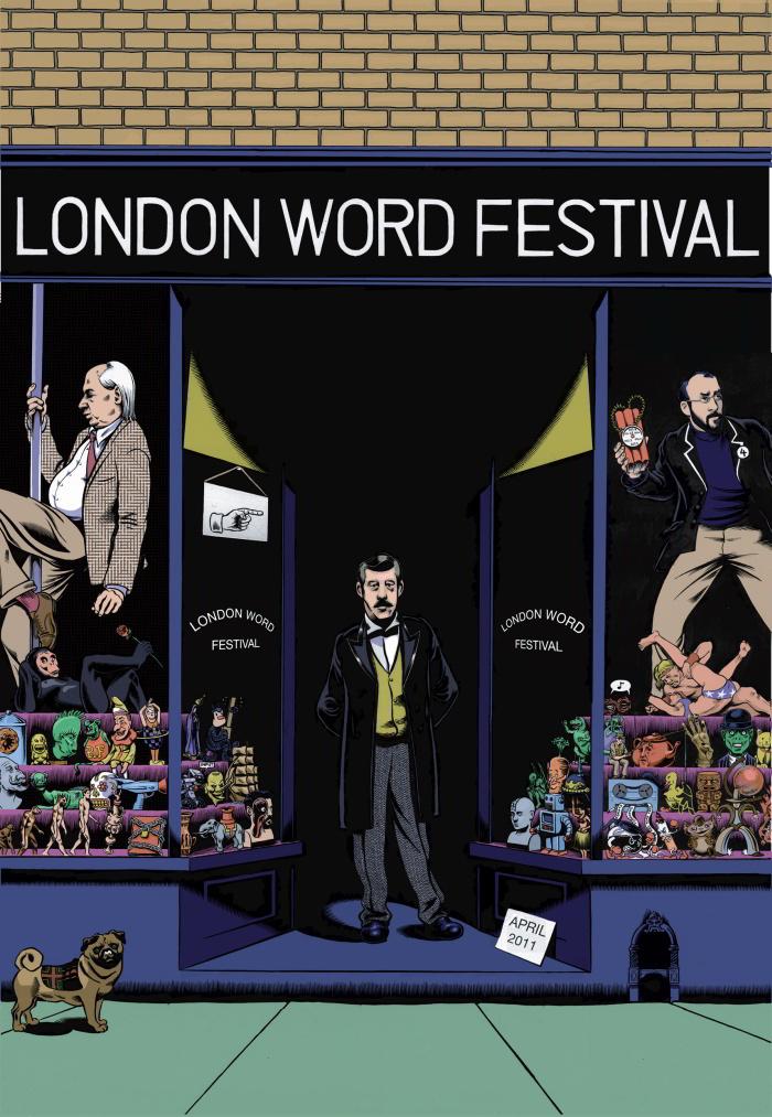 The London Word Festival Has Begun