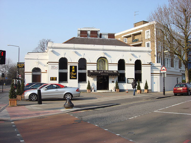 Marlborough Road station, in its Chinese restaurant days. Photo / Oxyman