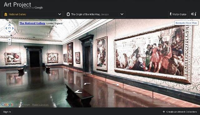 Google Street View Technology Enters Galleries