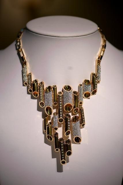 One of Lara Bohinc's statement necklaces.