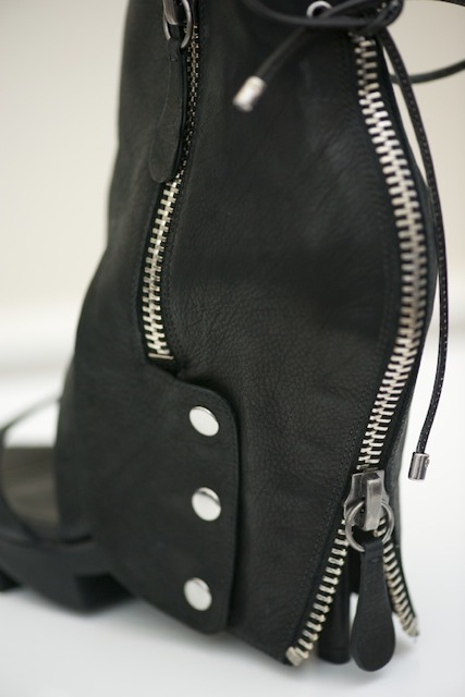 Attention to detail and sexy rock-chic embellishment.  Grown up and sexy and playful.