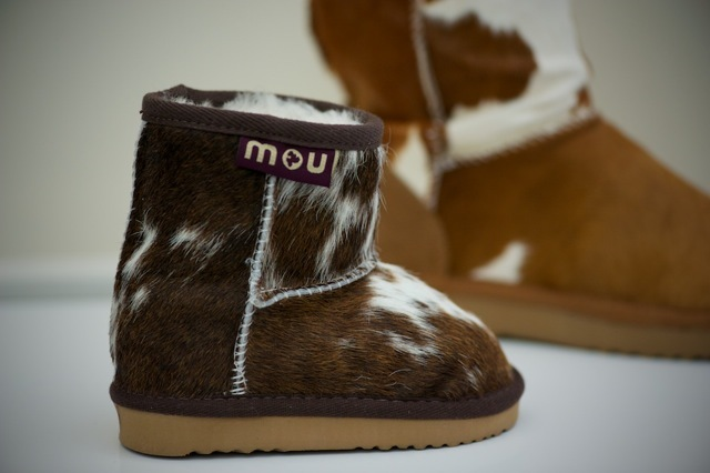 Now the kids can complete on all the fashion fronts with these fantastic skin boots from Mou.