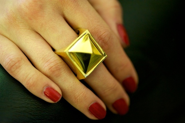 Sexy statement ring Agent Provocateur.