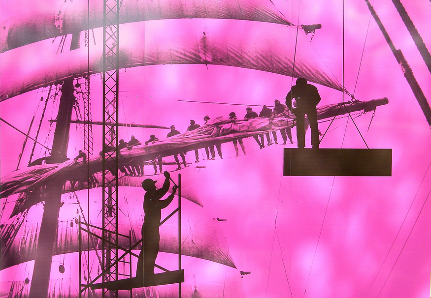 Pink Sails. By stradders06.