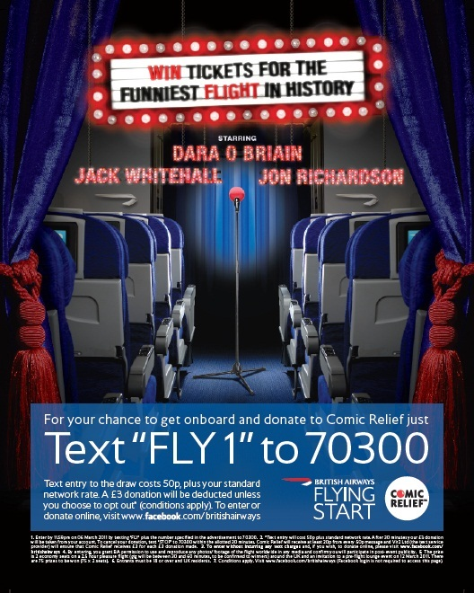 Win Tickets For Stand-Up Comedy Gig In The Sky