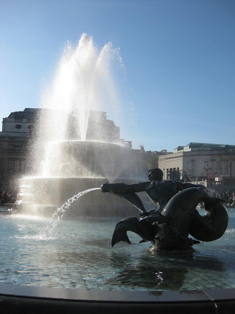 Three Stabbed In Trafalgar Square Clash