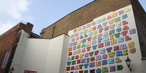 New Eine Mural In Covent Garden
