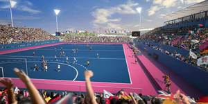 Blue Hockey Pitches To Debut At London 2012
