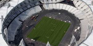 Olympic Stadium Construction Is Complete