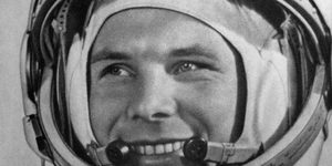 Yuri Gagarin Statue Unveiled On The Mall