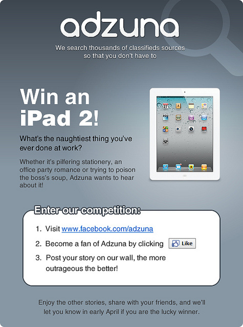 Competition: iPad 2 Giveaway!