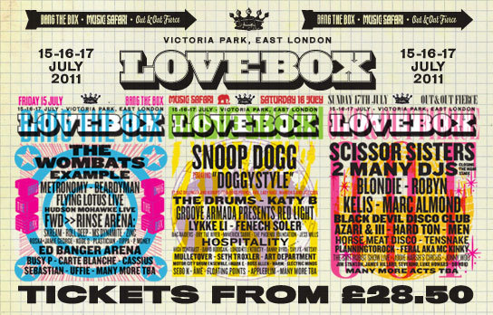 Snoop Dogg Headlines Lovebox 2011