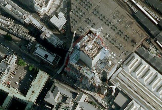 The Shard at London Bridge on Google Maps