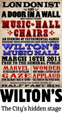 Music-Hall Chairs - Play With Us!