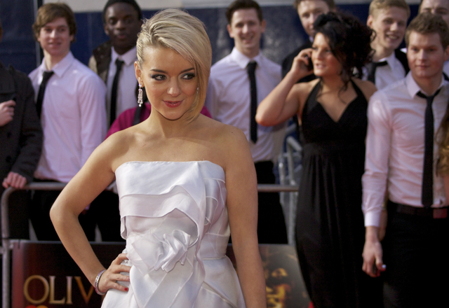 Sheridan Smith brought along her father and walked away with the award for Best Actress In A Musical for her role in Legally Blonde.