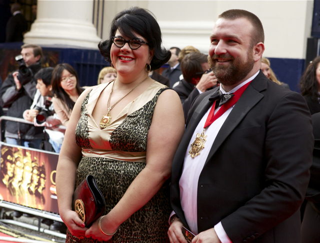 Amy Lame and Jonathan Simpson, Camden's first openly gay mayor
