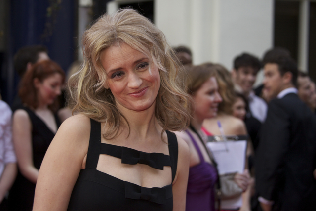 Anne-Marie Duff came out strongly against the cuts.
