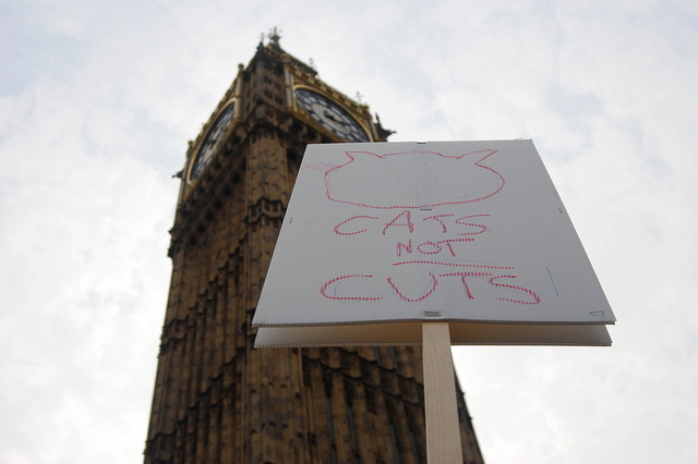 Cats not cuts / Tom Royal, with permission