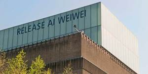 Slowalk (In support of Ai Weiwei) @ Tate Modern Saturday 30 April