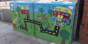 Colourful Boxes Near Old Street: More Info Needed