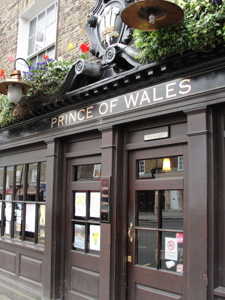 Kicking things off at the Prince of Wales
