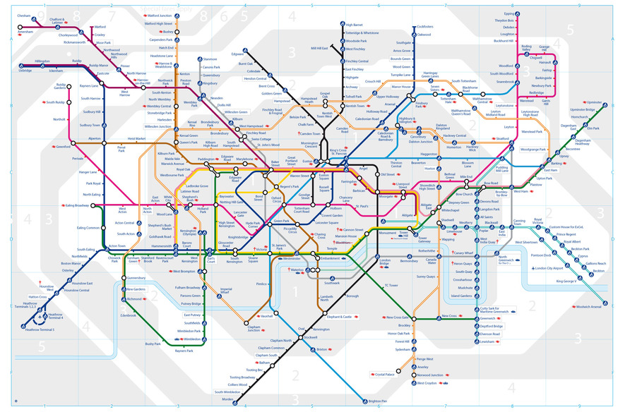 Improbable New Tube Map Emerges