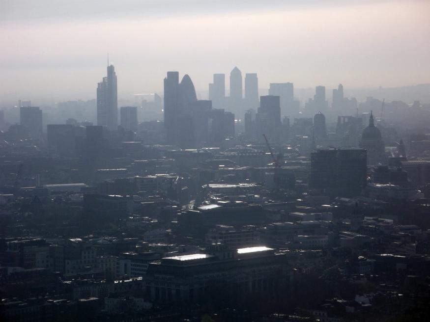 City and Canary Wharf.